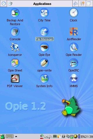 a1200的opie系统