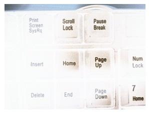 scroll lock键